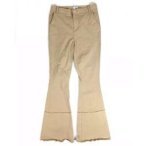 Frame Denim Pants High Waist Bell Bottoms Flare 26
